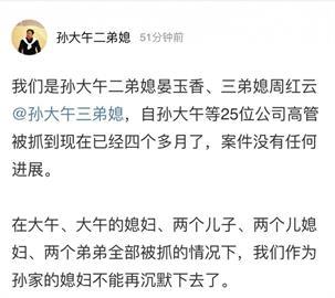 中國企業家孫大午恐被指涉黑 財產可遭沒收拍賣