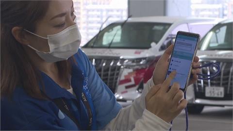 新科技防疫!不說話避病毒傳播 東奧交通車用APP溝通