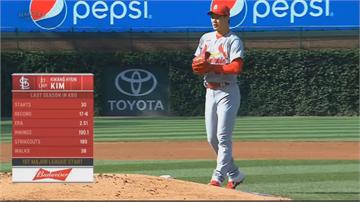 MLB/大聯盟生涯首先發太緊張!「微笑左投」金廣鉉戴錯球帽