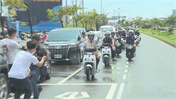 打造台南府城「低碳城市」  企業捐警10輛電動機車