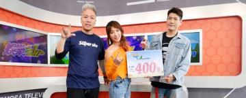 慶祝《GO GO Taiwan》400集《娛樂超skr》主持人超狂遊戲「玩過頭」崩潰嘔吐哭又笑