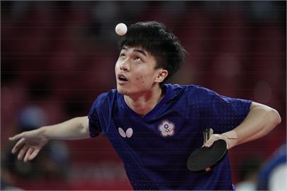東奧/桌球男團8強戰!林昀儒甜蜜復仇3:2擊敗奧恰洛夫拿下第2點