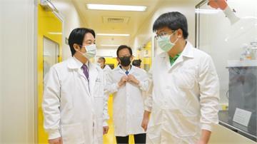 視察國內3疫苗廠 賴清德批中打壓疫苗進口