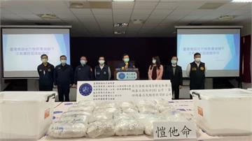 破獲上億毒品!高雄檢警與泰國合力 假岩鹽名義走私上噸毒品 數量驚人