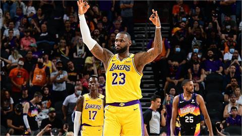 NBA/季後賽止步第一輪 湖人仍視詹姆斯為冠軍基石
