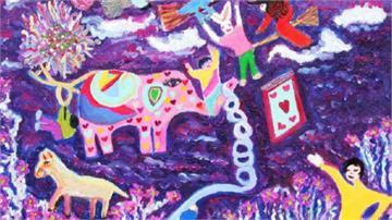 罹患罕病脊髓空洞症 「台版畢卡索」畫出精彩人生