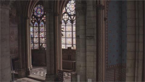 巴黎聖母院重建有成 開放媒體進入參觀