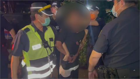 嘉義男酒駕撞傷母女還企圖襲警 一警壓制胸口紅腫