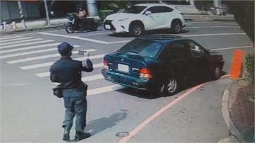 民眾違停買口罩收罰單 警:先勸導再罰