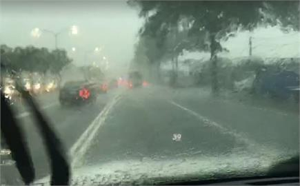 快新聞/國家級警報響了! 雷雨炸南台高雄發布淹水警戒