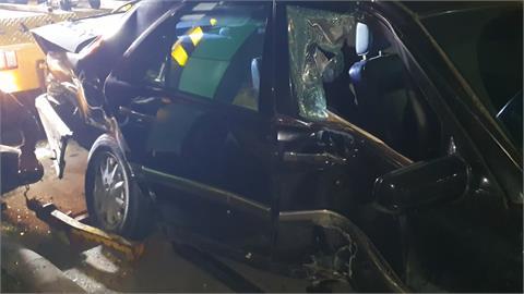 酒駕撞車還想私下和解 醉漢酒測值0.77被逮