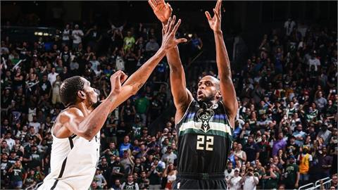 NBA/G6冷血殺手!米道頓狂砍38分 字母哥狂讚:必須把球給他