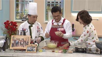 林佳龍帶拿手菜上美食節目 宣傳台灣之美