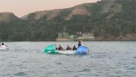 30天日休兩小時 自舊金山划船到夏威夷最速紀錄