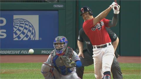 MLB/張育成打壞球開轟 敲402英尺大號全壘打
