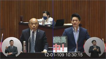 快新聞/蔣萬安再批蘇貞昌「吃人夠夠」:在國會公然說謊毀人商譽