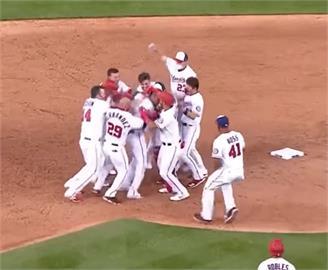 MLB/蘇鐸再見安 國民險勝勇士賽季開紅盤