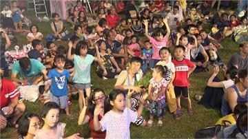 嘉義東石海之夏Day3 MOMO家族帶小朋友唱跳