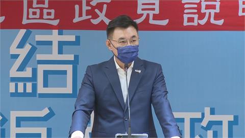 快新聞/張亞中民調竄升掀「棄江保朱」? 江啟臣:沒自信的候選人才喊棄保