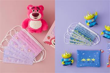 玩具總動員粉絲尖叫! 萊潔 x 迪士尼「三眼怪」、「熊抱哥」口罩登場 這一天開賣