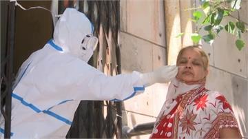 印度疫情失控 單日新增75000例確診創新高