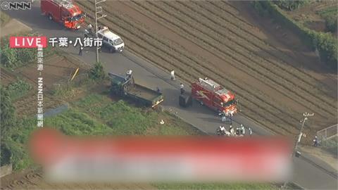 驚魂!千葉卡車失控暴衝 5小學生遭撞2人失去呼吸心跳