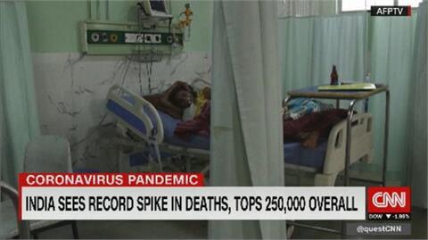 印度疫情從城市燒進鄉村 醫院氧氣不足病患喪命