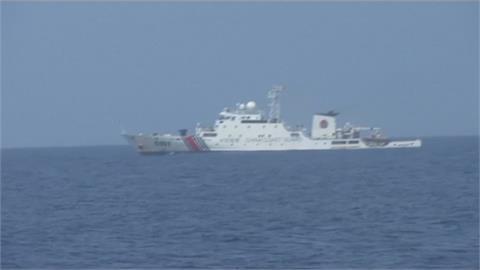 菲媒拍礁島遭中海警驅趕 近距離追逐1小時