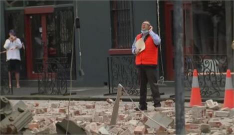 澳洲東南罕見地震 規模6.0強震落磚瓦民眾驚