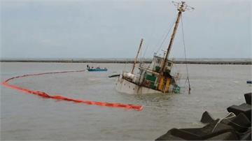 海上驚魂!勝利輪擱淺港外 8船員吊掛獲救