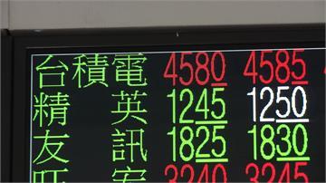 台積電股價飆 市值逼近12兆 激勵台股攻破萬三收盤創歷史新高