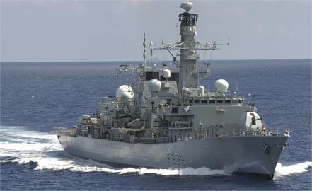 快新聞/脫歐後深耕印太地區 英國巡防艦通過台灣海峽