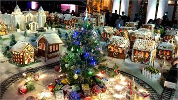 迎接耶誕節!教會打造全台最大薑餅城市