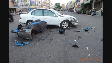 車禍關鍵撞擊影像遺失了!傷者控警 「太扯」