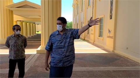 快新聞/帛琉國會頂樓美景盡收 我駐帛琉大使周民淦:來了三年都沒有看過