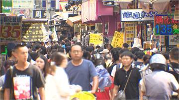 「報復性人潮」擠爆台中商圈!消費者不怕曬排隊吃好料