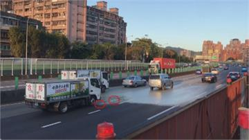 國道爆漿急封閉車道修復回堵17公里 民眾塞5小時快崩潰