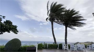 恆春吹起落山風如輕颱  鄰近海域現風浪