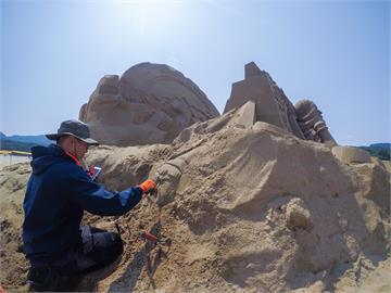 2021福隆國際沙雕藝術季正式開雕 重溫皮克斯經典