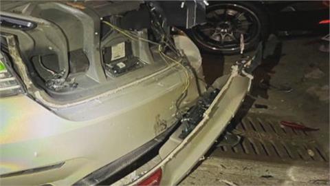 驚悚!駕駛甩尾失控撞車友 2人被撞飛送醫後不治