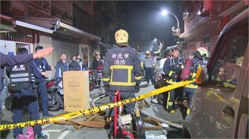 新莊公寓一樓「回收屋」火警逃生受阻68歲獨居翁葬身「垃圾海」