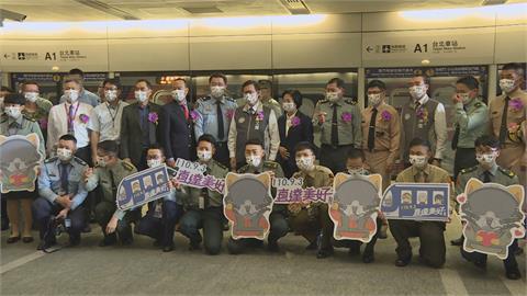 國軍形象列車正式啟用 鄭文燦搭乘首體驗AR