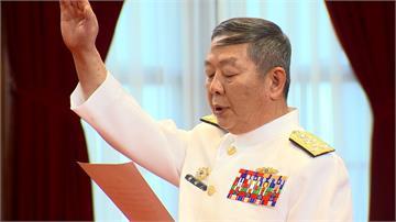 總統府辦宣誓典禮 參謀總長黃曙光正式就職