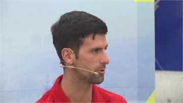 網球/喬科維奇夫妻篩檢結果呈陰性 將捐款援助重災區