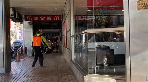 快新聞/全台疫情警戒 麥當勞採單一出入口及實聯制