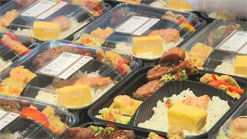 豬肋排、鮭魚雙主菜超澎派!京站聯手5業者 連6天送200便當給醫護