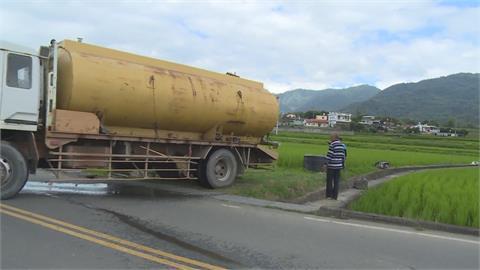 池上米正值用水高峰 萬安村「灌3停3」根本不夠用
