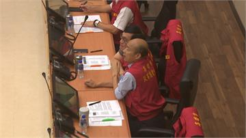 韓國瑜8點坐鎮防災稱「從小準時」 網友整理遲到紀錄打臉