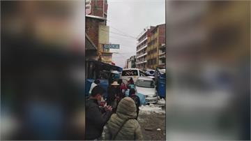 冰雹.洪水襲擊玻利維亞首都 至少釀4人死亡