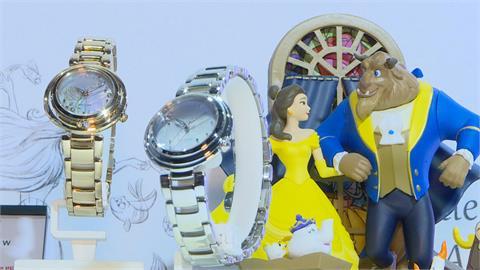 手表品牌推迪士尼聯名款 瑞莎少女心噴發